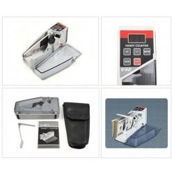 V40 kézi, hordozható bankjegyszámláló, pénzszámoló gép