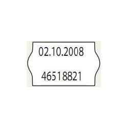 Árazógép címke 26x16