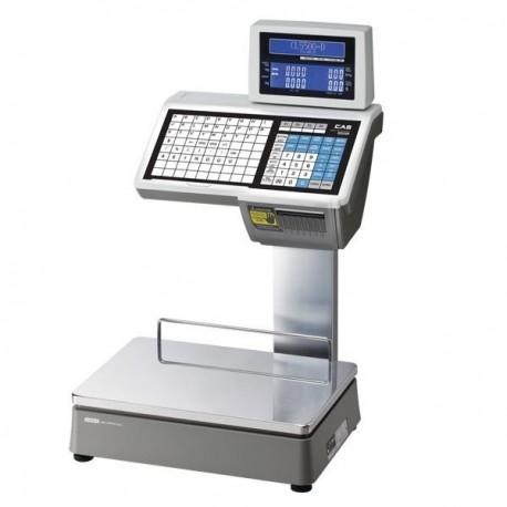 Cas Cl5500d hitelesített címkenyomtatós rendszermérleg