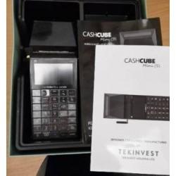 HASZNÁLT CashCube Mini hordozható online pénztárgép