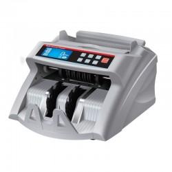EC-2200 bankjegyszámláló, pénzszámoló gép, kék LCD kijelzővel (UV+MG)